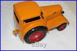 1938 Minneapolis Moline UDLX Comfortractor Tractor/Car, Die Cast With Tag 1984