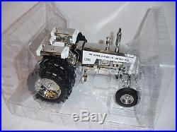 1/16 Minneapolis Moline G940 Silver Chrome Toy Tractor Times! 1 of 1 For Sale
