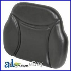 BB109BL Universal Big Boy Seat Replacement Back Cushion For Tractors, Black