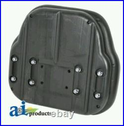 Big Boy Seat Replacement Back Cushion For Several Model Tractors, Black