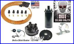 Delco Ignition Tune up kit for Case 200B 300B 400B 500B 600B 12V
