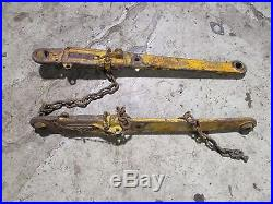 Minneapolis Moline 445 Tractor 3 Point Hitch Lower Lift Arms