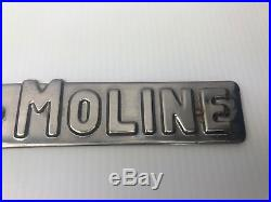 Minneapolis Moline 445 Tractor Decal Free Shipping