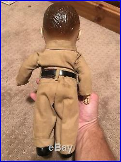 Minneapolis Moline Buddy Lee Antique Doll With Coverall Uniform Tractor Promo