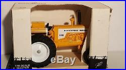 Minneapolis Moline G940 1/16 diecast metal farm tractor replica by Scale Models