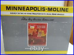 Minneapolis- Moline G940 W Duals Toy Tractor Times 33rd Anniversary 1/16