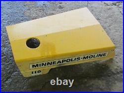 Minneapolis Moline Town & Country 108 112 110 Tractor Hood