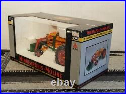 Minneapolis Moline U withNew Idea 504 Loader 1/16 Diecast Farm Tractor by SpecCast