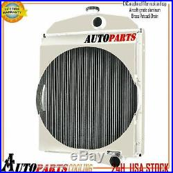 OE# 163342AS 163343AS Oliver Tractor Radiator For Model1550 1555 1600 1650 1655