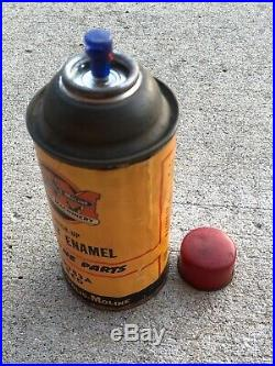 Scarce Vintage Minneapolis Moline Spray Enamel Paint Can / Oil Can / Tractor
