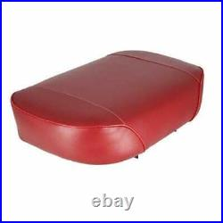 Seat Cushion Vinyl Red Compatible with Oliver 1850 White Minneapolis Moline