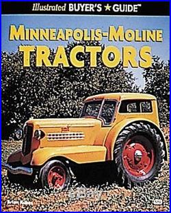 USED (VG) Illustrated Buyer's Guide Minneapolis-Moline Tractors Motorbooks Inte