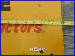Vintage MINNEAPOLIS MOLINE MM FARM Machinery TRACTOR Advertising Wood SIGN