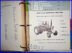 White Oliver Minneapolis Moline Tractor & Equip Sales Manual G955 1870, 4-180 &&